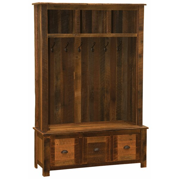 Deuxville Entry Locker Unit Hall Tree By Union Rustic