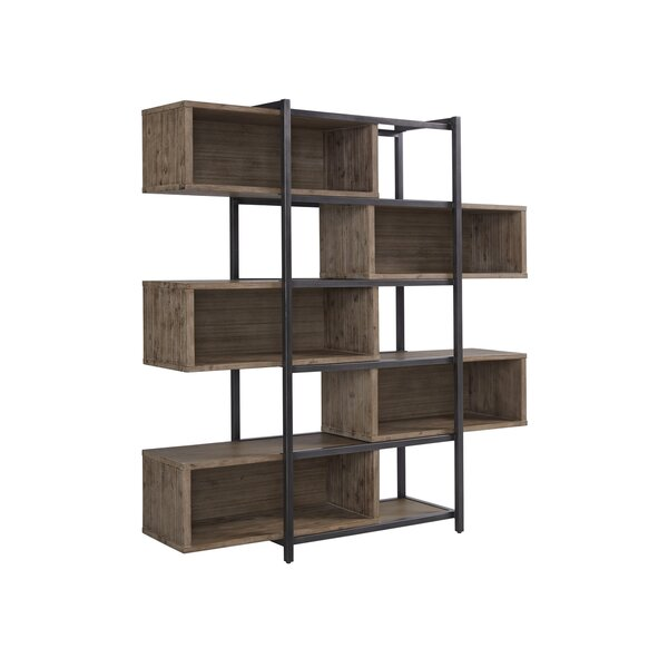 Elisha Standard Bookcase by 17 Stories