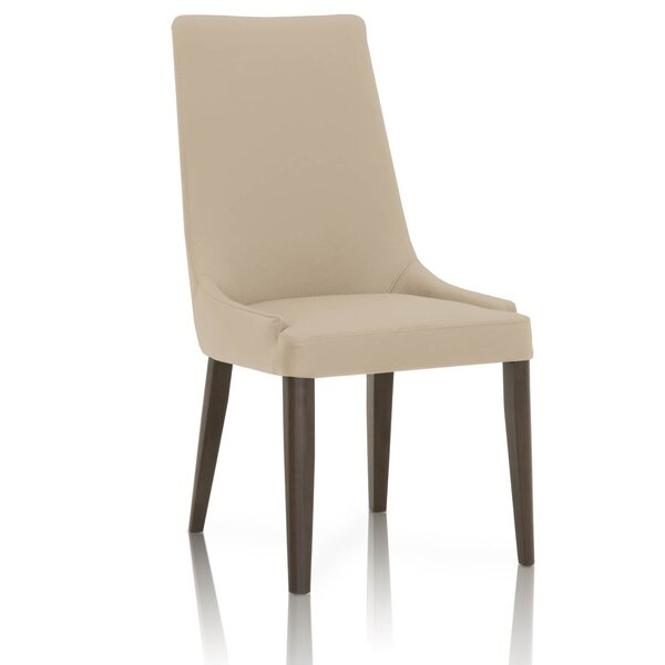 Maryam Wooden Upholstered Dining Chair (Set of 2) by Latitude Run