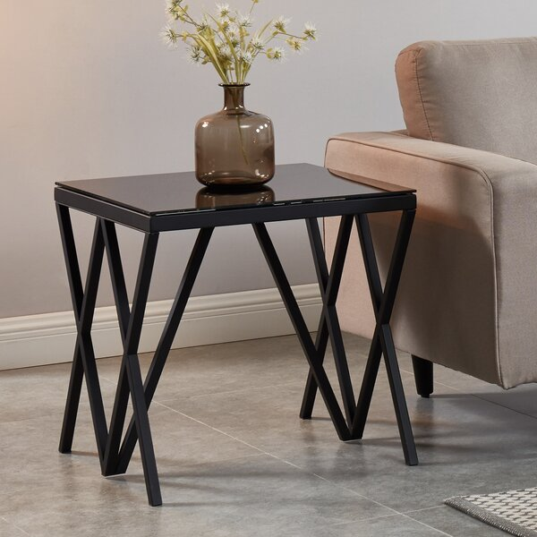 Knobel End Table by Ivy Bronx Ivy Bronx