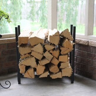Log Rack by Woodhaven