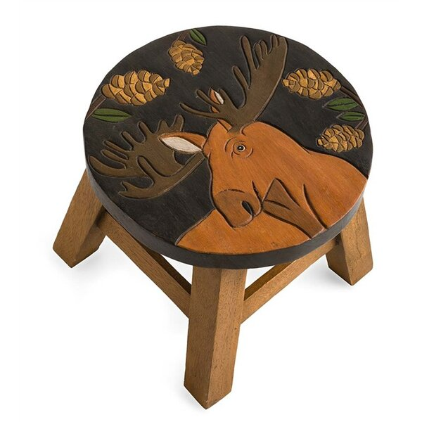 Moose Accent Stool by Plow & Hearth