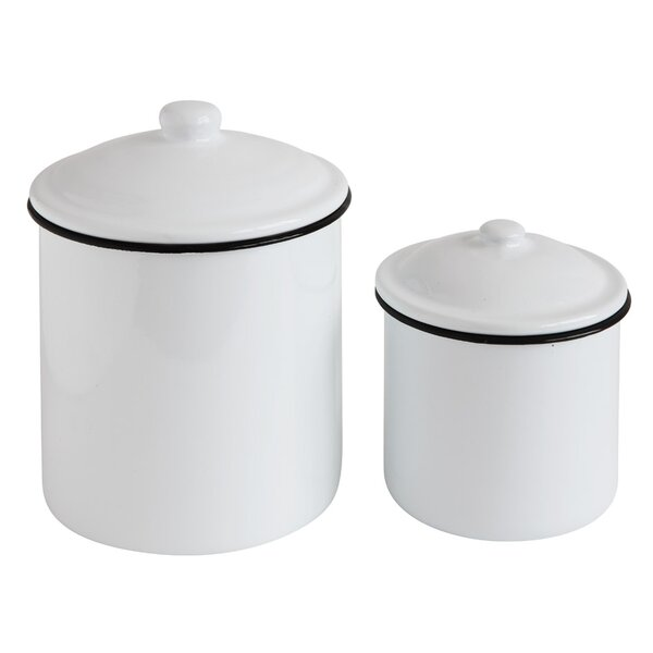 2-Piece Canister Set by Mint Pantry
