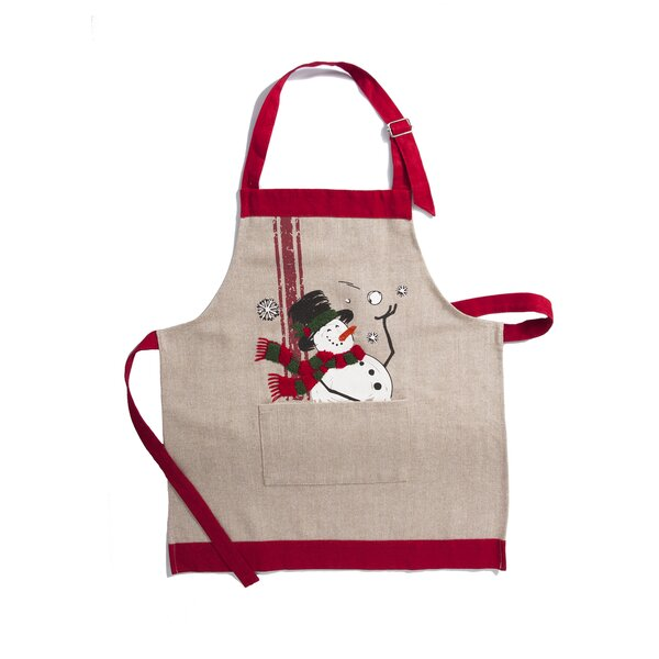 Frosty Christmas Apron by The Holiday Aisle
