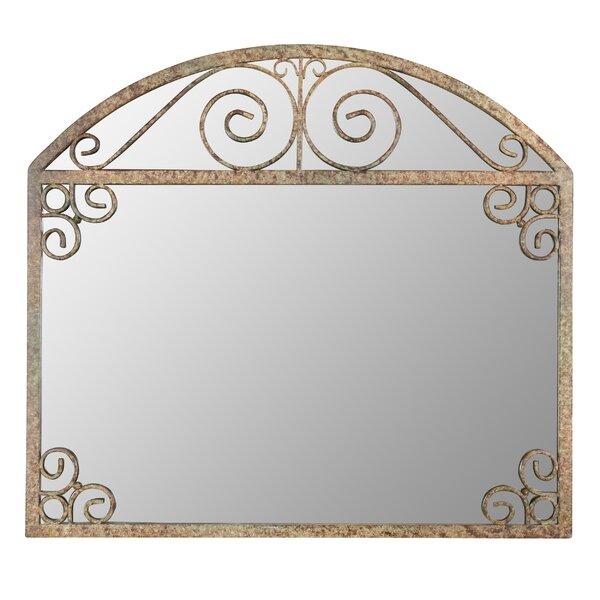 Azurine Arch Frame Wall Mirror by One Allium Way