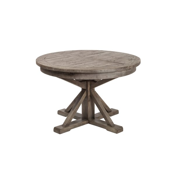Meunier Extendable Dining Table by Gracie Oaks