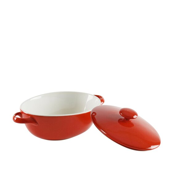 Sienna Oval Bakeware with Lid (Set of 2) by Ten Strawberry Street
