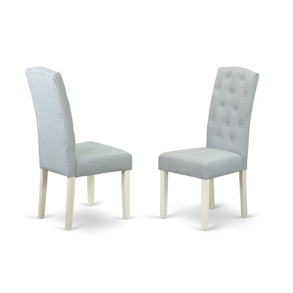 Dance Upholstered Dining Chair (Set of 2) by Charlton Home