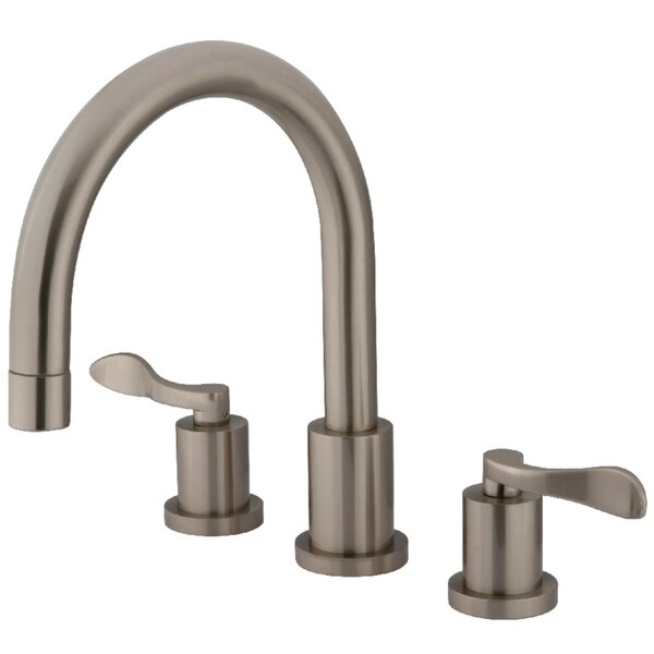 Double Handle Roman Tub Filler by Kingston Brass