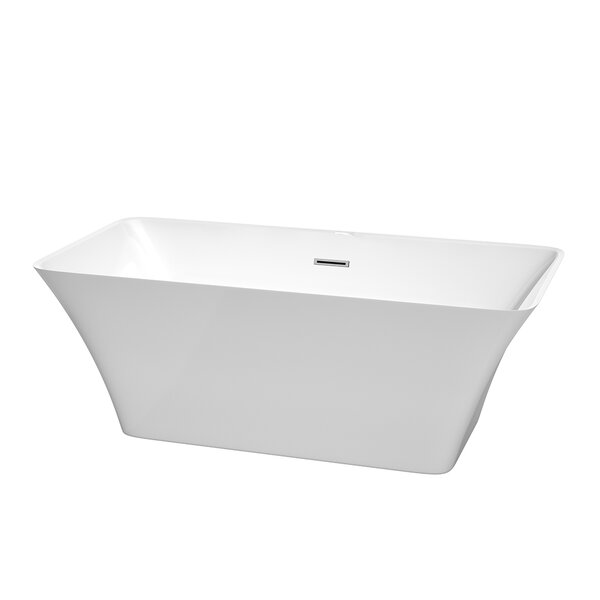 Tiffany 59 x 29.5 Soaking Bathtub by Wyndham Collection