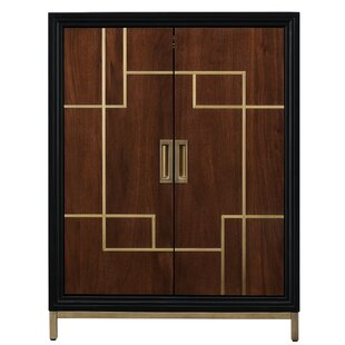 Geraldina Wine 2 Door Accent Cabinet
