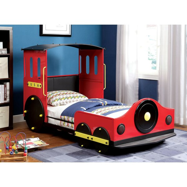 Burntwood Twin Car Bed by Zoomie Kids