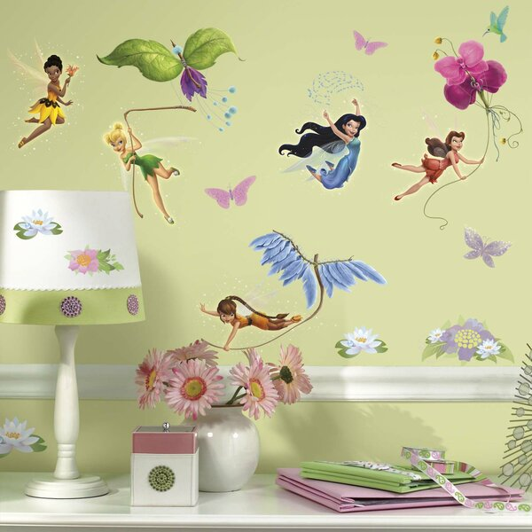 Disney Fairies Wall Decal By Room Mates.