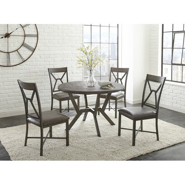 Bairoil 5 Piece Dining Set by Three Posts