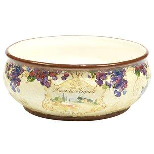 Shopping for Carmel Deep Serving Bowl ByFleur De Lis Living