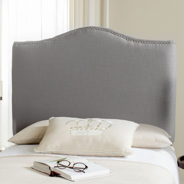 Laken Upholstered Panel Headboard by House of Hampton