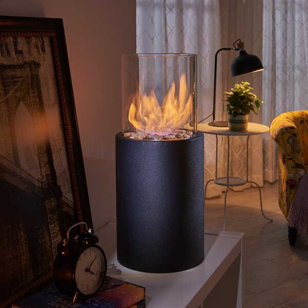 Bio-Ethanol Tabletop Fireplace by Danya B