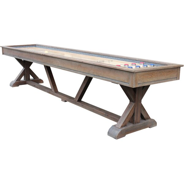 Brazos River Shuffleboard Table by Playcraft