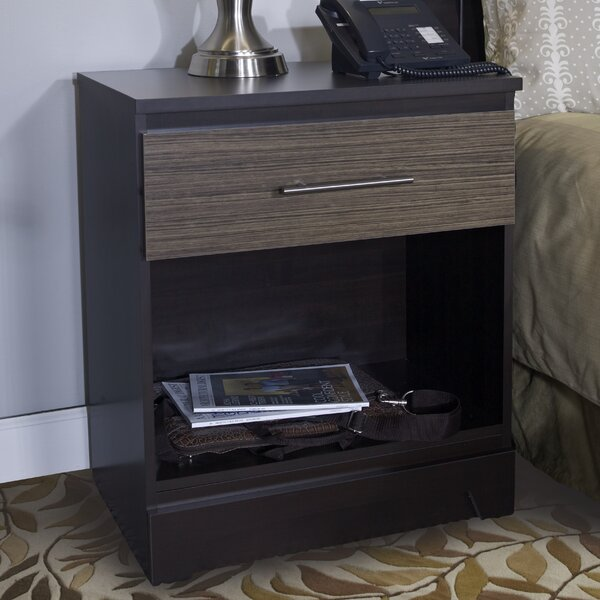 Deco 1 Drawer Nightstand by Lang Furniture