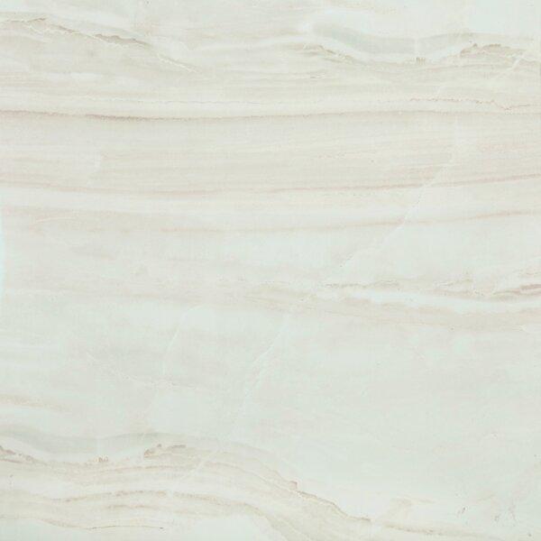 British Jade Full Polished Glazed Porcelain Field Tile in Beige by Multile