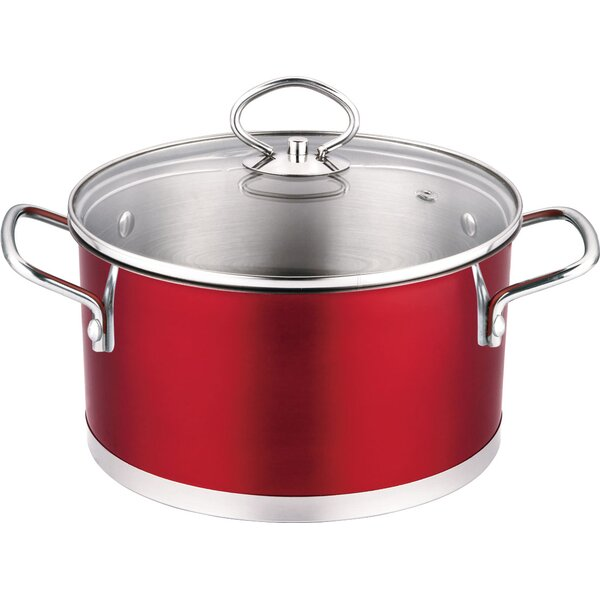 Stainless Steel 3-qt Soup Pot with Lid by Prime Cook