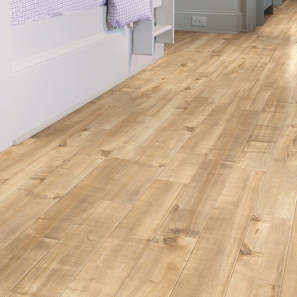 Boardwalk 5 x 48 x 10mm Maple Laminate Flooring in