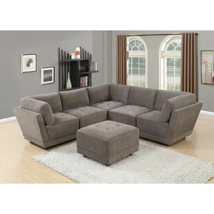 Mckenny Modular Sectional with Ottoman
