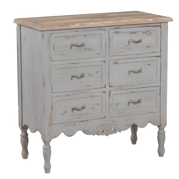 Tyler 6 Drawer Accent Chest by Wildon Home®