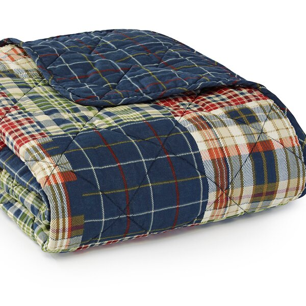 Madrona Quilted Cotton Throw by Eddie Bauer
