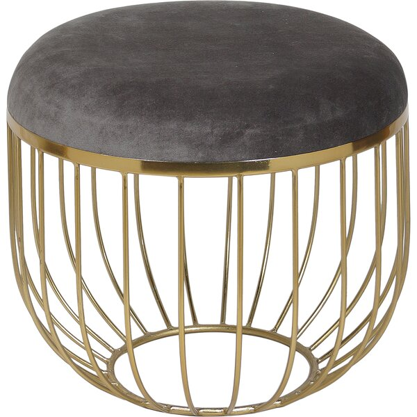 Hetton Vanity Stool by Everly Quinn