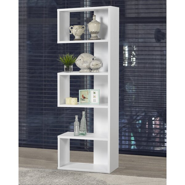 Review Horence Geometric Bookcase