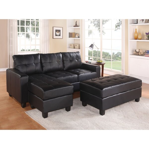 Baysview Reversible Sectional with Ottoman by Latitude Run