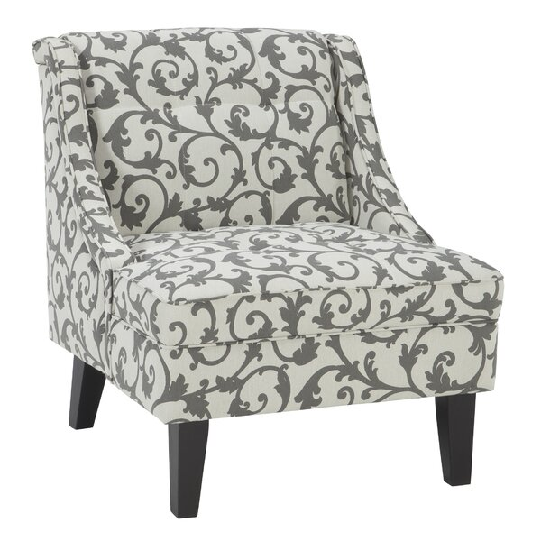 Eleanora Slipper Chair by Alcott Hill Alcott Hill
