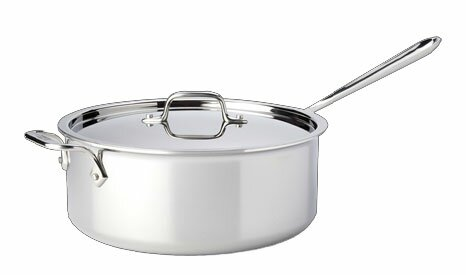 D3 6 Qt. Saute Pan with Lid by All-Clad