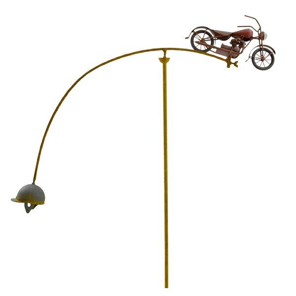 Balancing Buddies Motorcycle Pinwheel (Set of 2) by Red Carpet Studios LTD