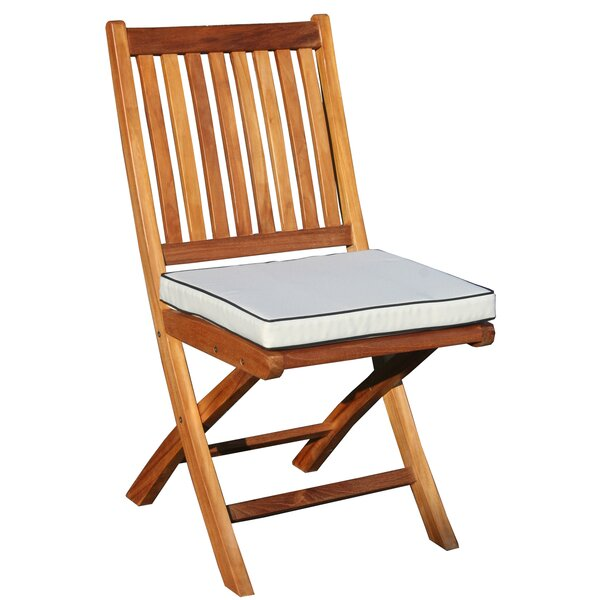 Santa Barbara Indoor/Outdoor Dining Chair Cushion by Chic Teak