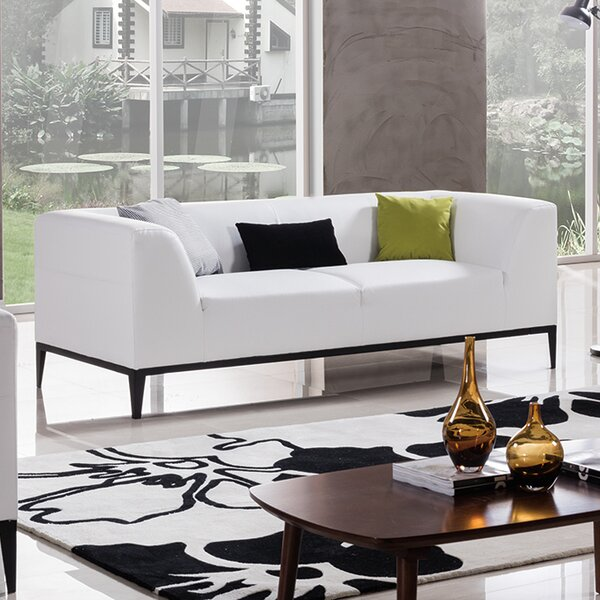 Luxury Brands Hogarth Sofa by Orren Ellis by Orren Ellis