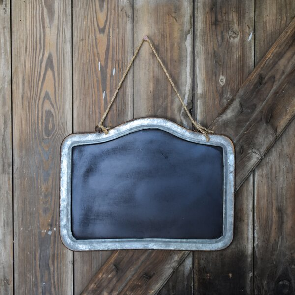 LG Wall Mounted Chalkboard (Set of 4) by Laurel Foundry Modern Farmhouse