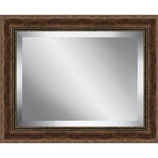 Ashton Wall Decor LLC Rustic Effect Plate Accent Mirror