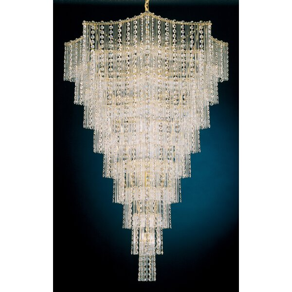 Jubilee 33-Light Crystal Chandelier by Schonbek