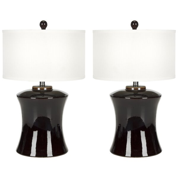Gary Ceramic 24 Table Lamp (Set of 2) by Safavieh