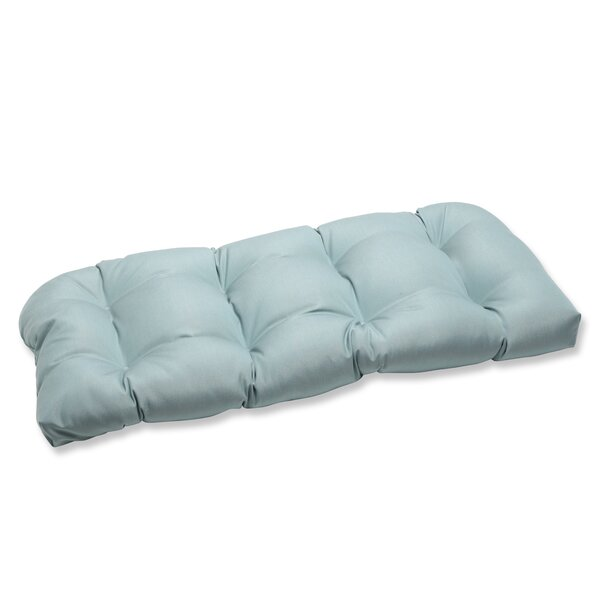 Canvas Indoor/Outdoor Loveseat Cushion by Pillow Perfect