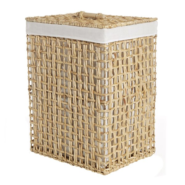 Wicker Hamper by Rosecliff Heights