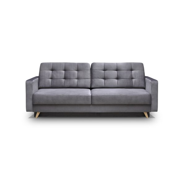 New Trendy Cassella Vegas Reversible Sleeper Sofa by George Oliver by George Oliver