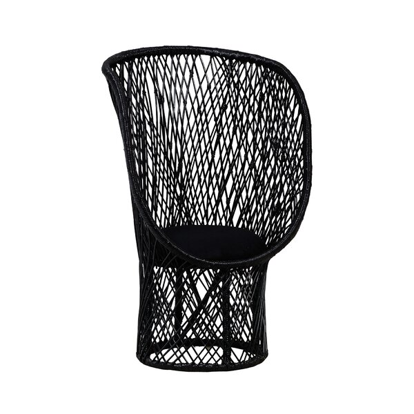 Westerman Rattan Balloon Chair by Bungalow Rose
