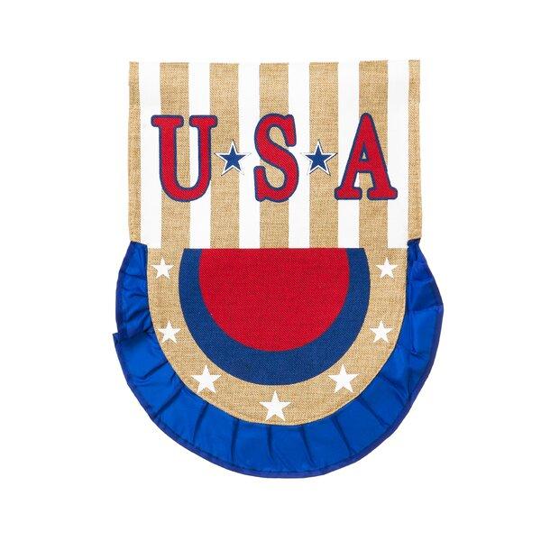 USA Bunting Vertical Flag by Evergreen Enterprises, Inc