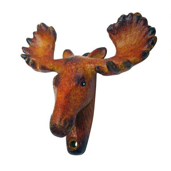 Moose Tracks Cast Iron Bottle Opener (Set of 2) by Design Toscano