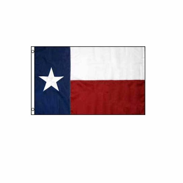 Texas Embroidered 5 x 8 ft. House Flag by NeoPlex