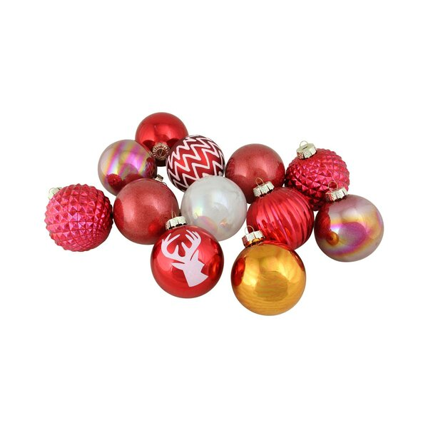 Multitextured Decorated Ornament Ball by The Holiday Aisle