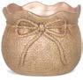 Santa Sack Dolomite Pot Planter by Ophelia & Co.